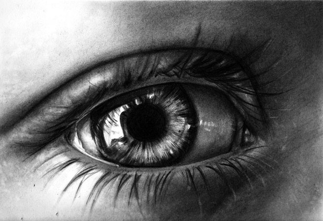 Drawn eyeball famous Of Beautiful and Pencil Eyes