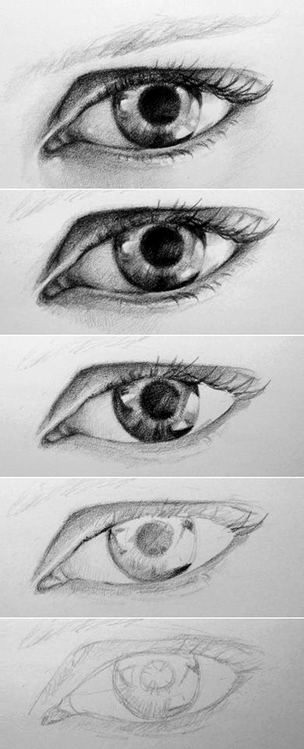 Drawn goat eye Drawings ideas Eye Examples To