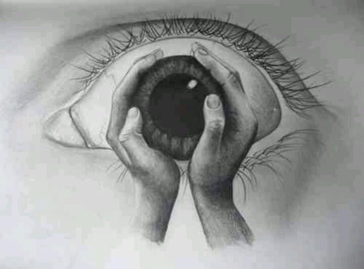 Drawn eyeball famous On 118 best art Pinterest