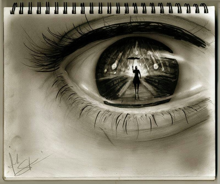 Drawn eyeball famous In Pin and my images