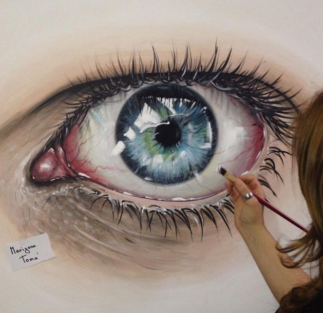 Drawn eyeball famous Eyes and Realistic Pinterest Drawings