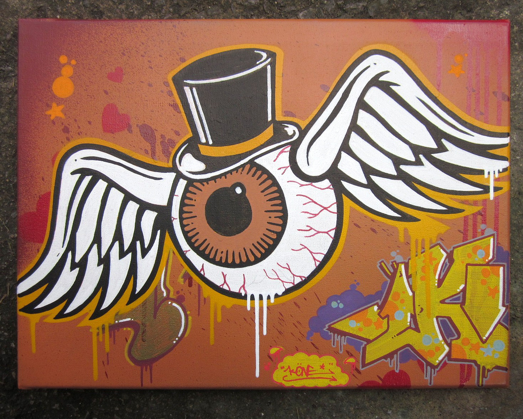 Drawn eyeball flying eyeball Search Flying Kulture images eyeball