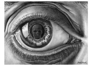 Drawn eyeball hand Hand sees eye Si(gh)t Eye