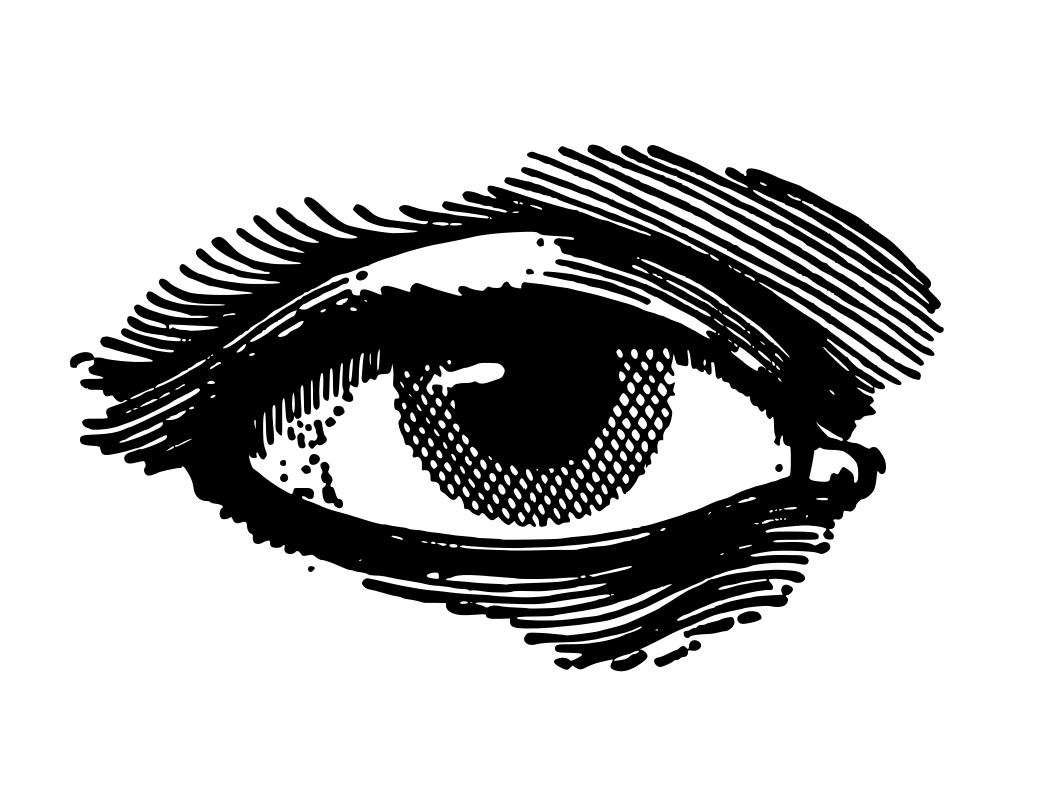 Drawn eyeball hand Black Eyes Black drawings Black