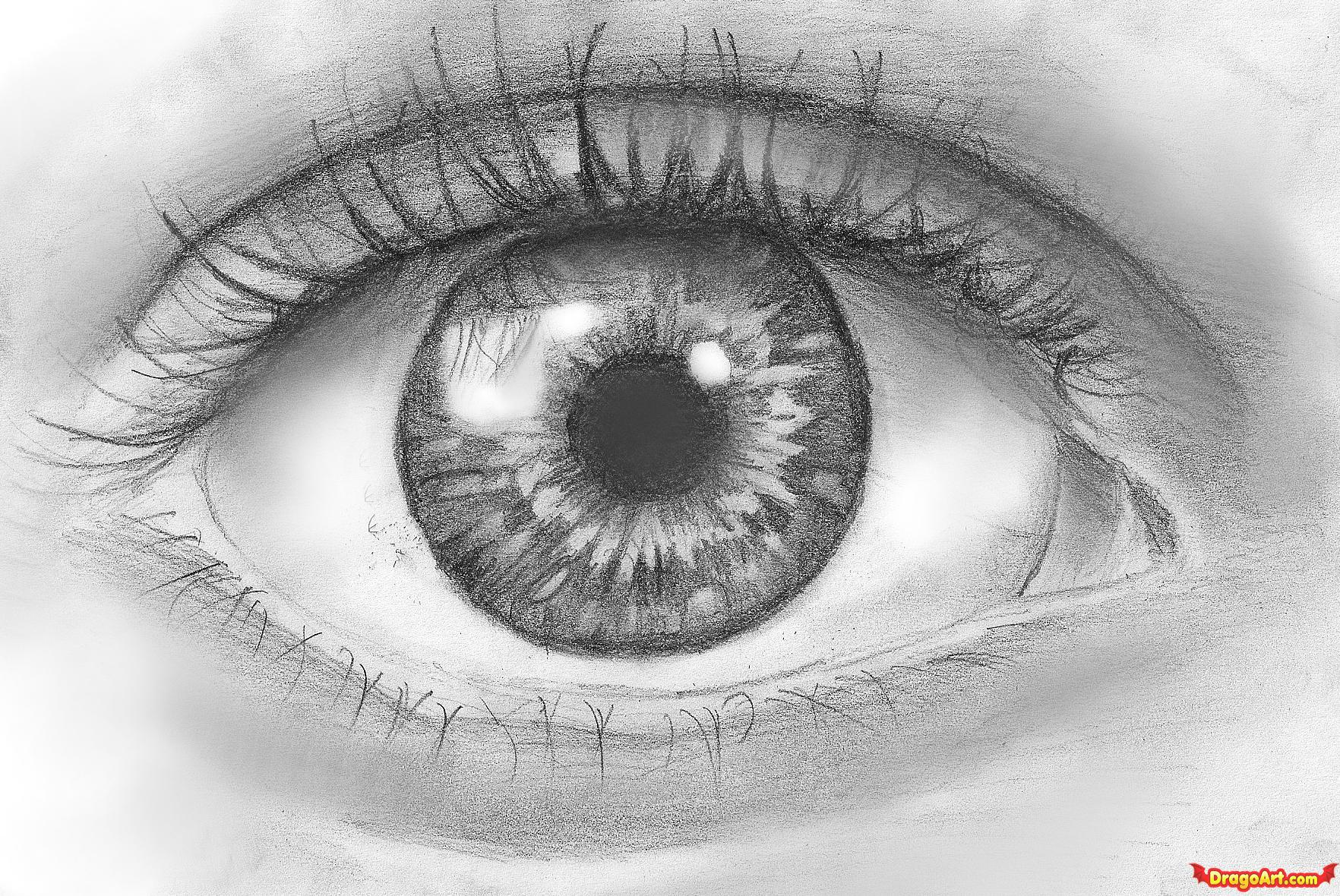 Drawn eyeball hand  eyes hand Gallery drawn