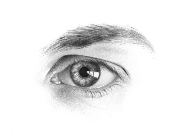 Drawn photos male eye So for I drawing for