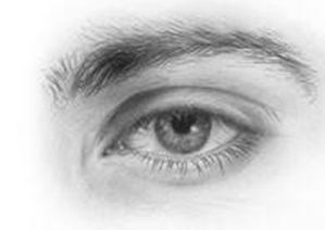 Drawn eyeball man Tutorials Eyes on to Pinterest