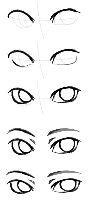 Drawn eyeball man People answer 20+ to How