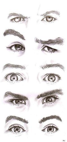 Drawn eyeball man Drawing is are MOST without