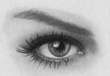 Drawn eye detailed #4