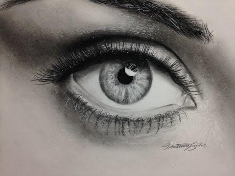 Drawn eyeball most realistic eye Time Realistic Lapse Eye Eye