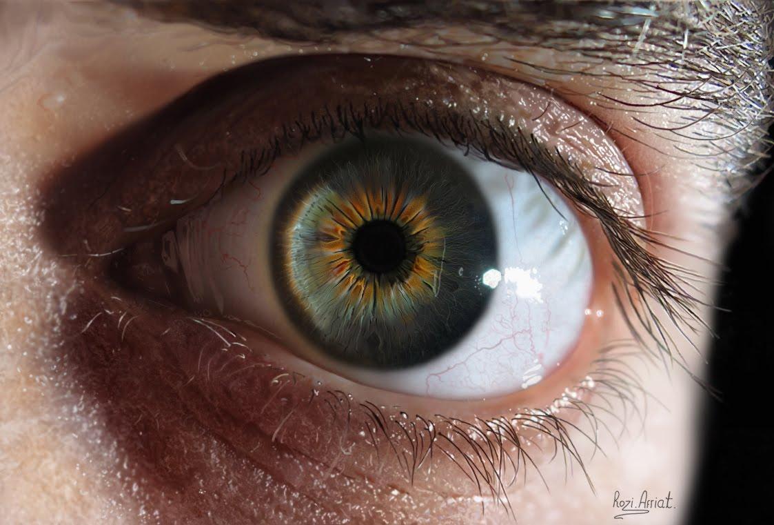 Drawn eyeball most realistic eye HD! drawing YouTube the in