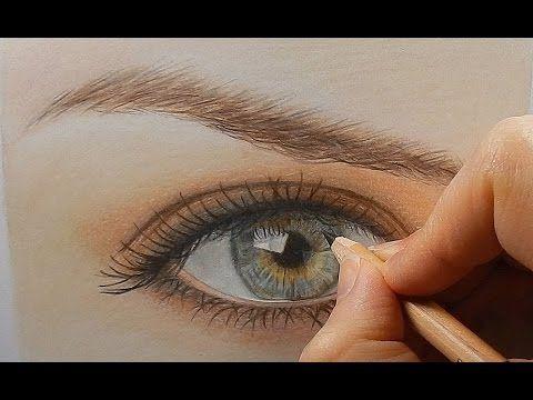 Drawn eyeball most realistic eye Kalia colored Pinterest on Best