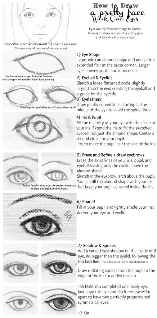 Drawn eyeball most realistic eye Draw Tutorial!  Eyes a