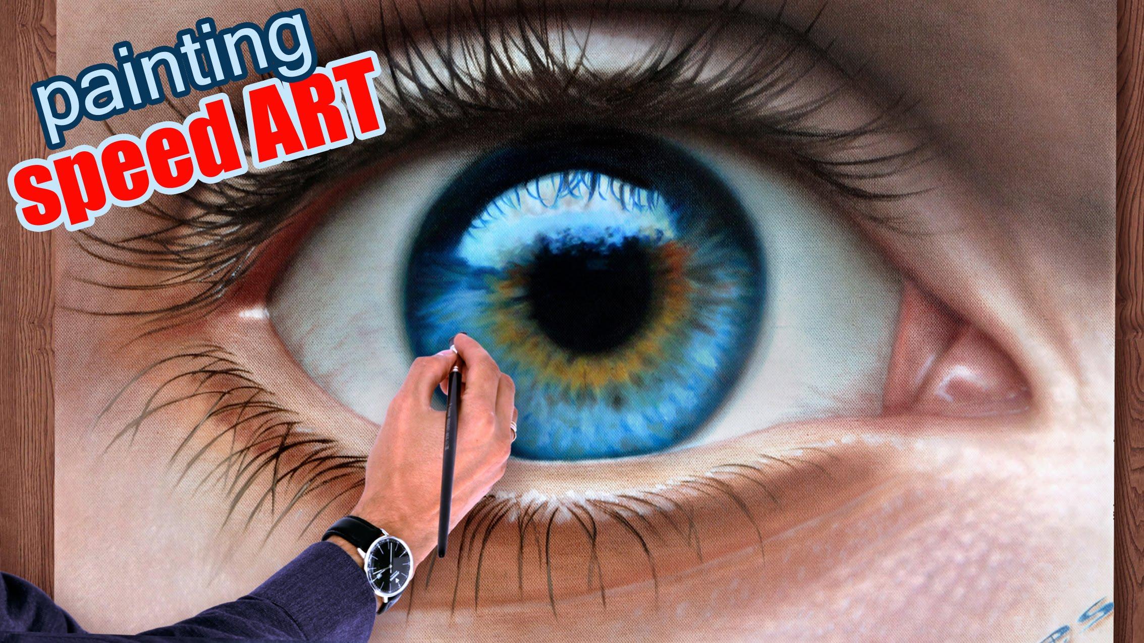 Drawn eyeball most realistic eye Drawing) dry Eye realistic malen