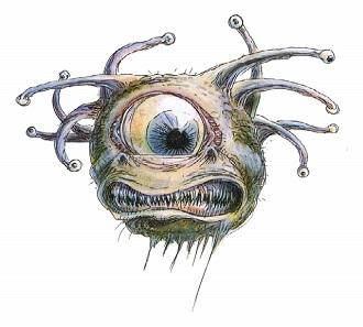 Drawn eyeball one eye Oculothorax Tropes Oculothorax TV