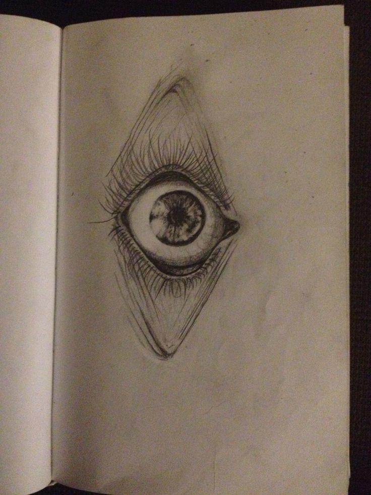 Drawn sphere light on Eyeball ideas 25+ eyeball drawing