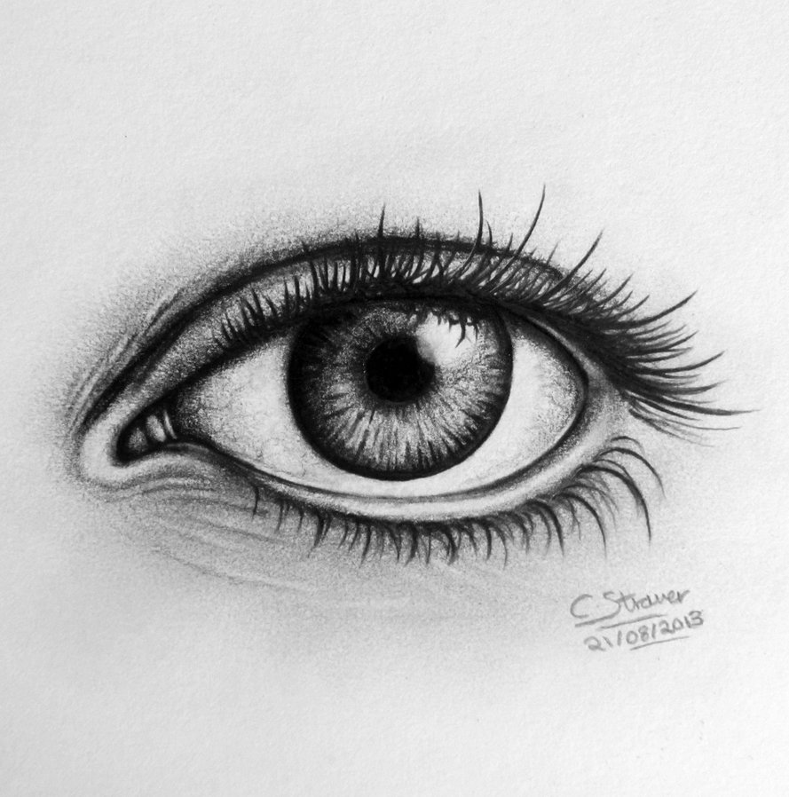 Drawn eyeball photorealistic For Drawings Images >