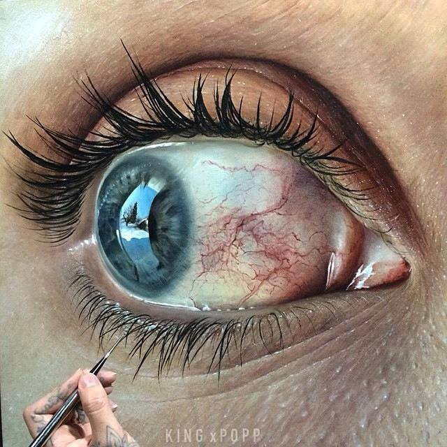 Drawn eyeball photorealistic And Pencil Drawings Beautiful Inspiration