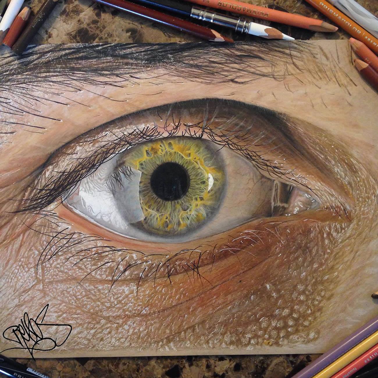 Drawn eyeball photorealistic By Eye Drawings Drawings Photorealistic