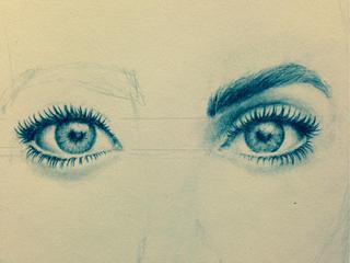 Drawn eyeball pretty eye On hard Liked cmb710 worked