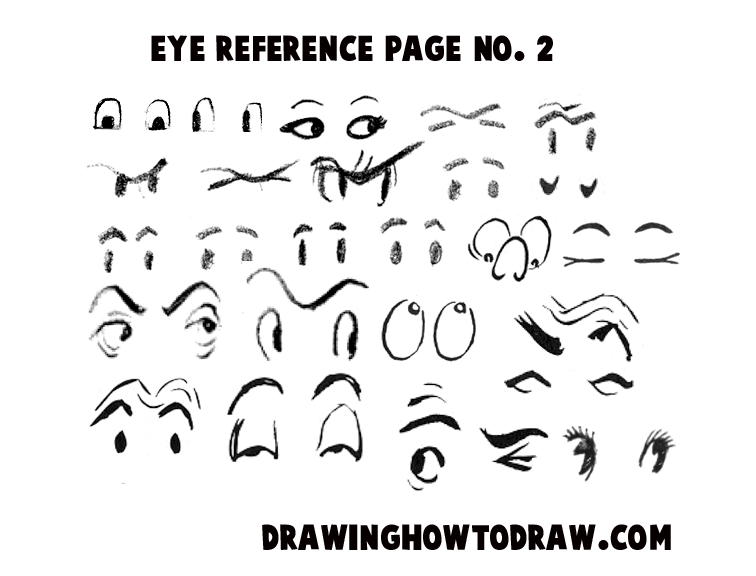 Drawn eyeball printable Eyes Drawing to Sheet Eyes