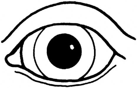 Drawn eyeball printable Free Free cute eye eyes