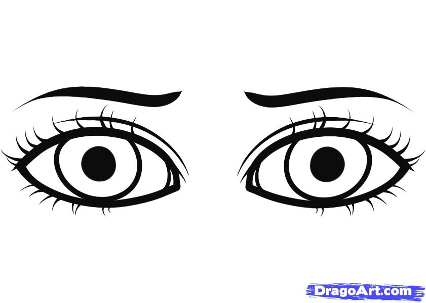 Drawn eyeball printable Printable And When Eye Coloring