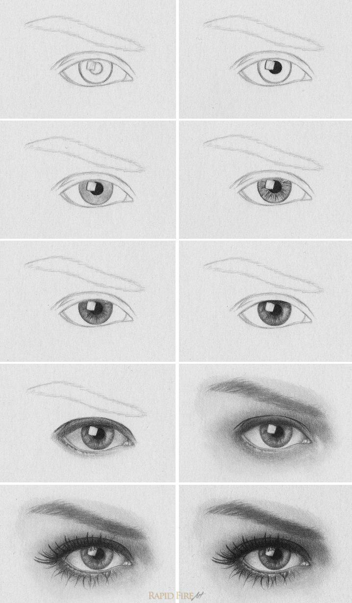 Drawn tears tear step by step Tutorials ideas a draw eye