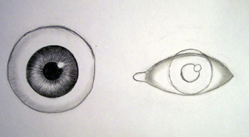 Drawn eyeball real life With Drawing  [Archive] Help