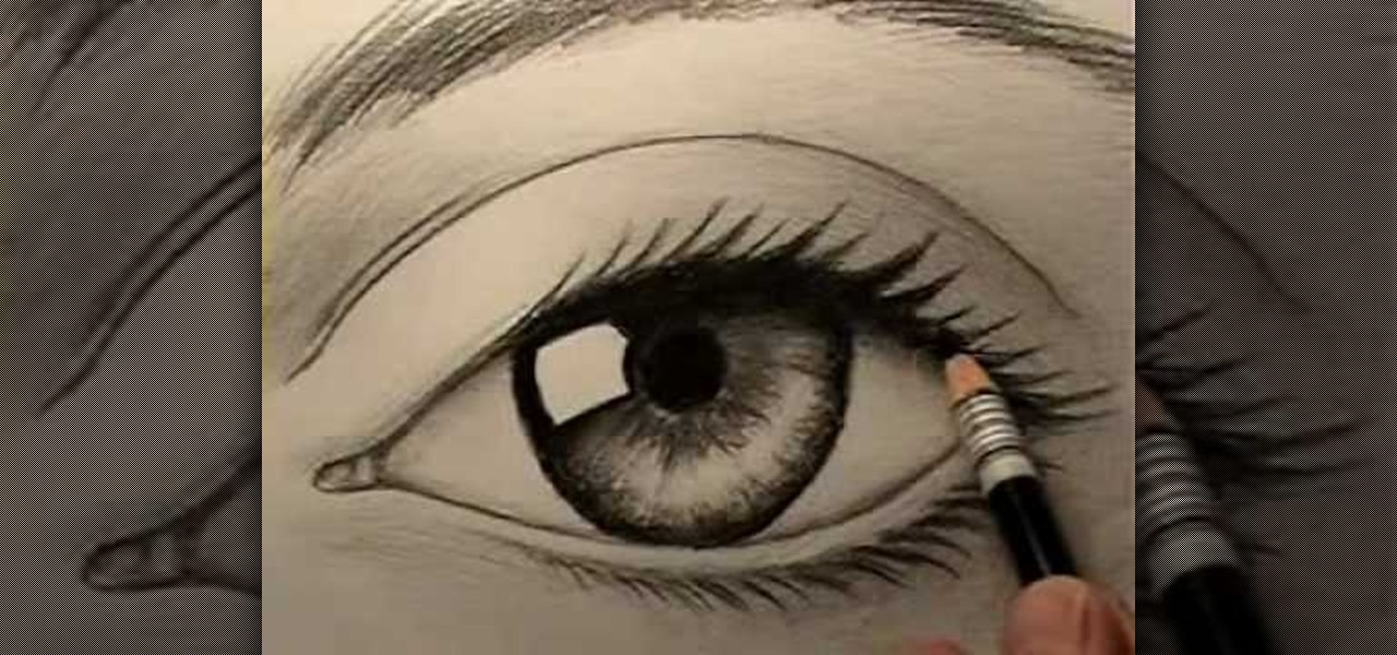 Drawn eyeball real life Draw a Draw How «