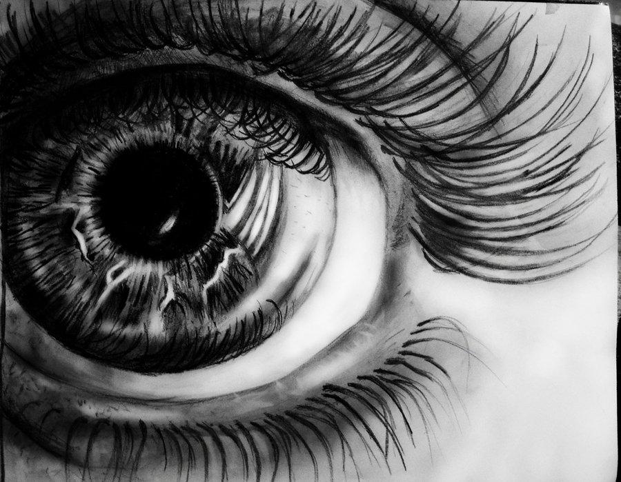Drawn eye detailed #2