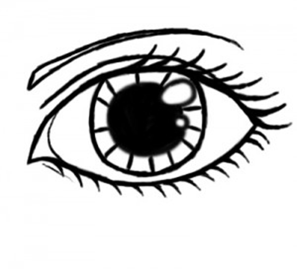 Eyeball clipart drawn Art Design Eyes Drawings It