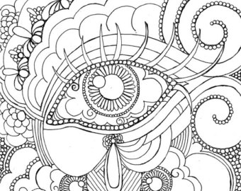 Drawn eyeball steampunk Steampunk Steampunk Want Eye Coloring