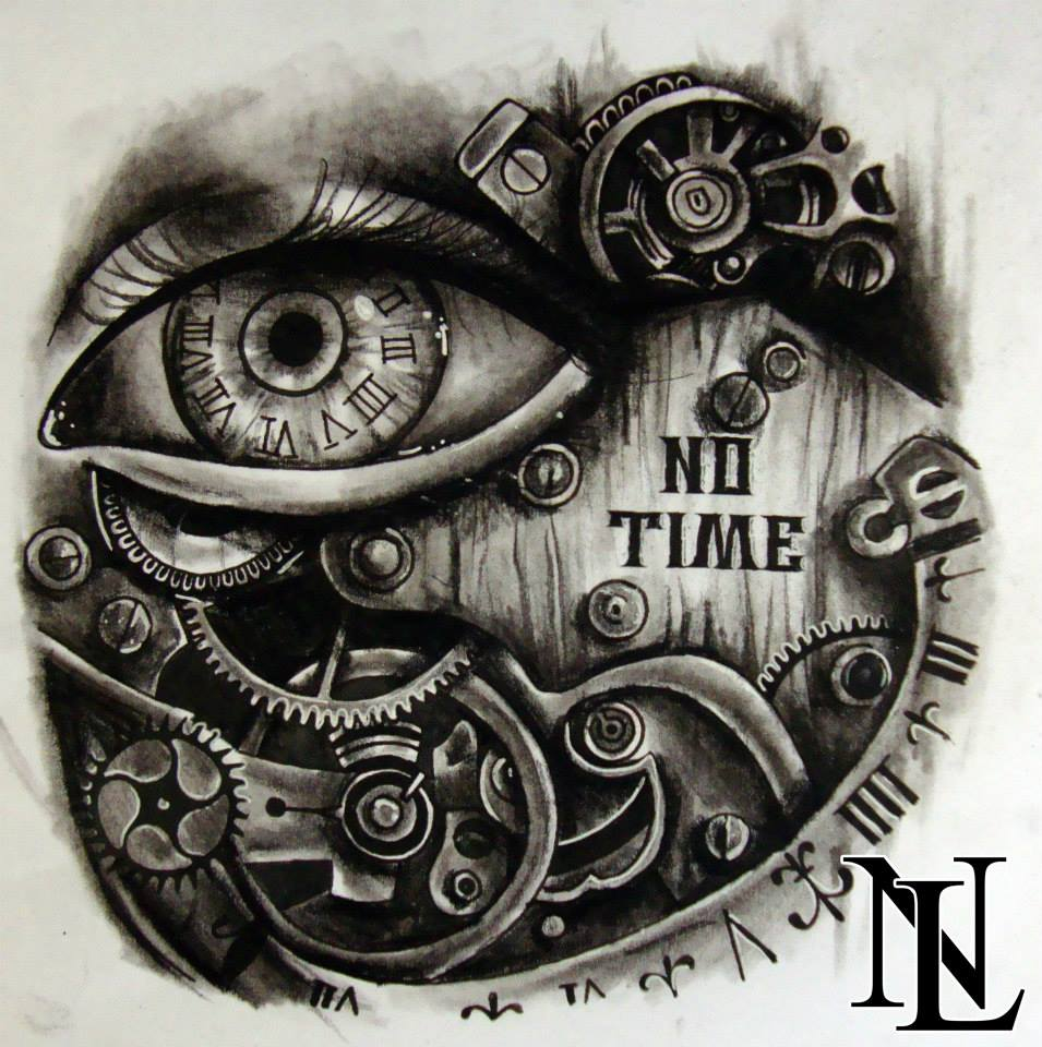 Drawn eyeball steampunk Steampunk #script #eye #tattoo #cogs
