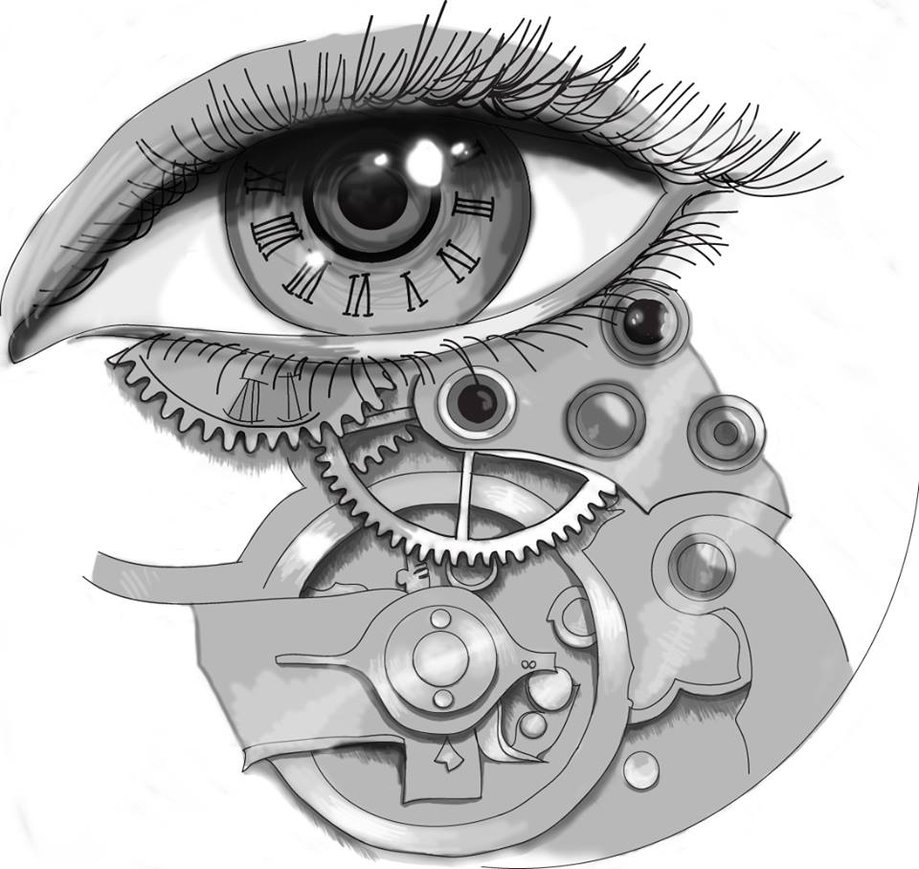 Drawn eyeball steampunk D6s58zz Eye Tattoo Tattoo By