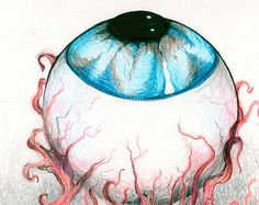 Drawn eyeball vein Search Google Images eyeball Drawings✎