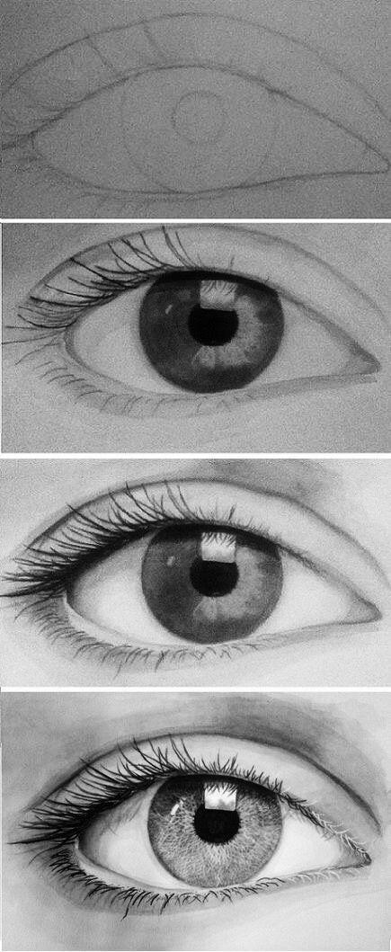 Drawn eyeball world's good #6