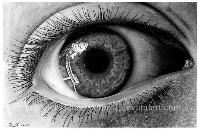 Drawn eyeball world's good #1