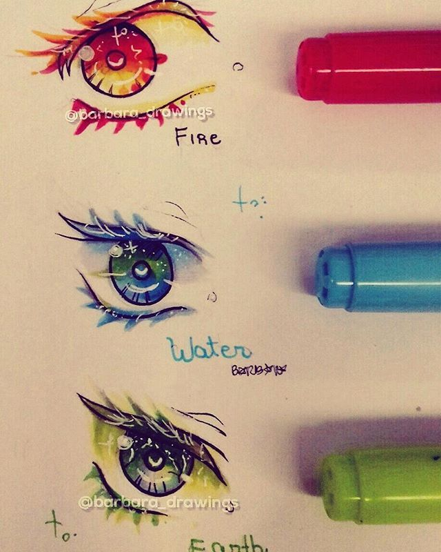 Drawn eyeball world's good #14
