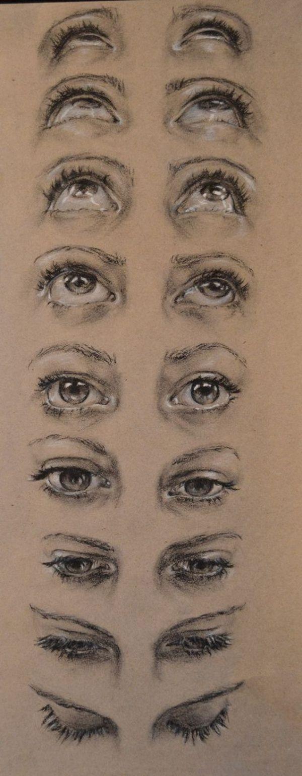 Drawn eyeball world's good #12