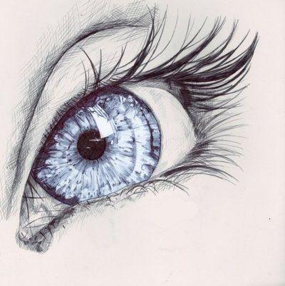 Drawn eyeball world's good #7