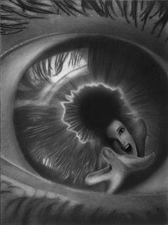 Drawn eyeball world's good #11