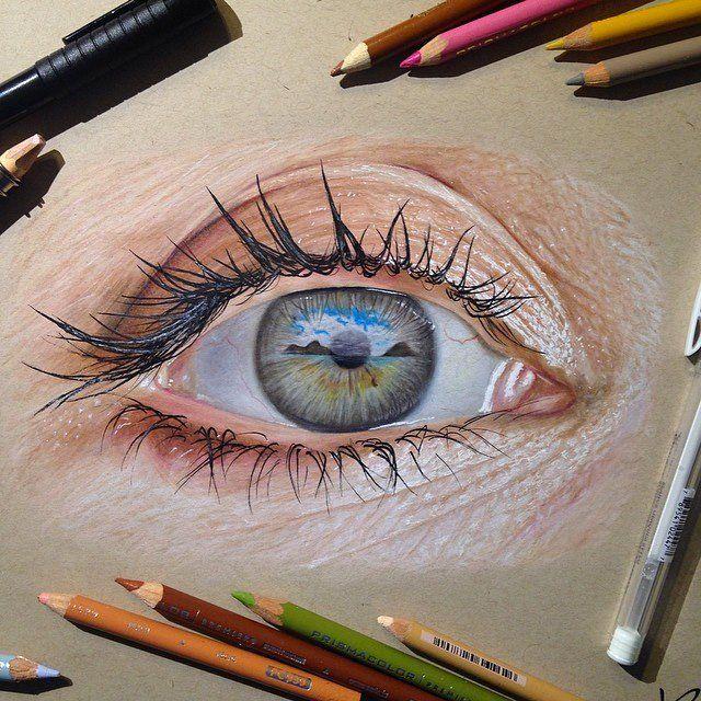 Drawn eyeball world's good #13