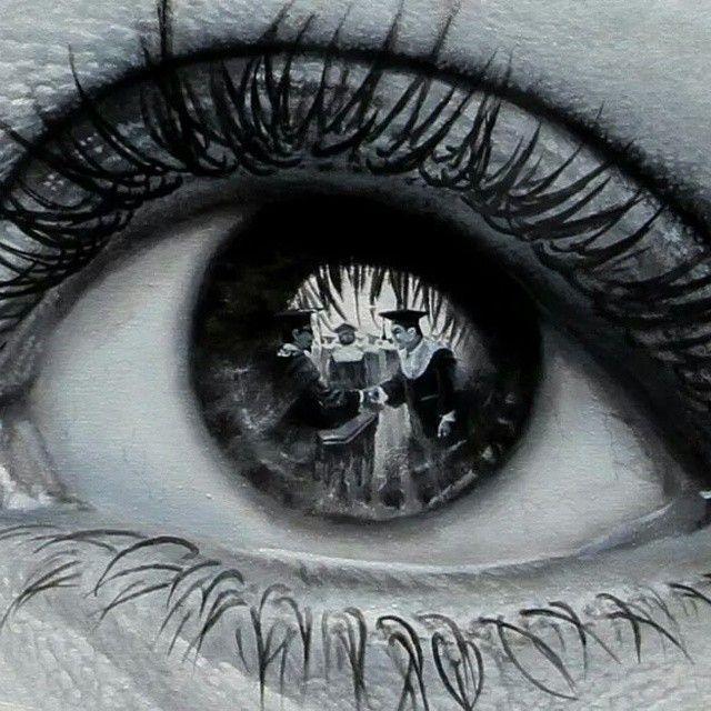 Drawn eyeball world's good #3