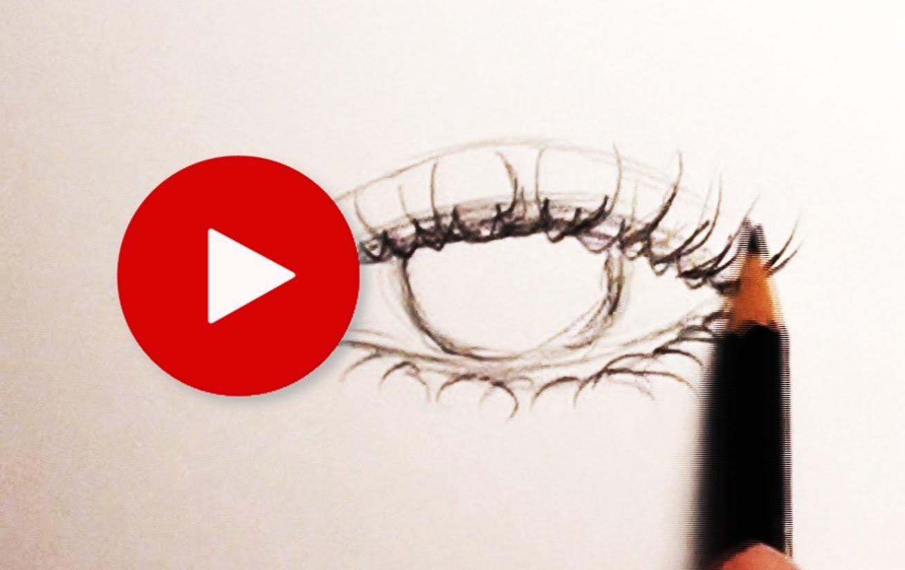 Drawn eyelash How to Draw  &