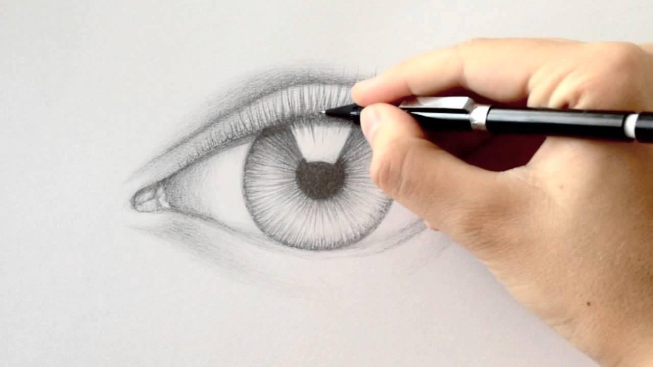 Drawn eyelash TO DRAW EYELASHES HOW DRAW
