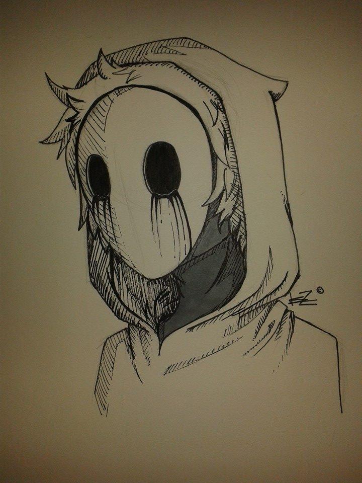 Drawn eyeless jack Drawing EYELESS DeviantArt creepypasta JACK