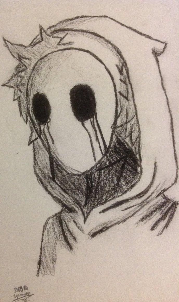 Drawn eyeless jack Jack drawing on  eyeless