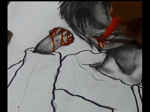 Drawn eyeless jack YouTube Jack Drawing Eyeless Speed